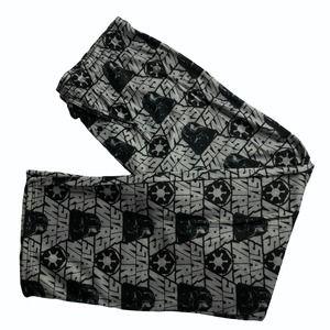Star Wars Gray/Black Printed Pajama Pants XL Men's